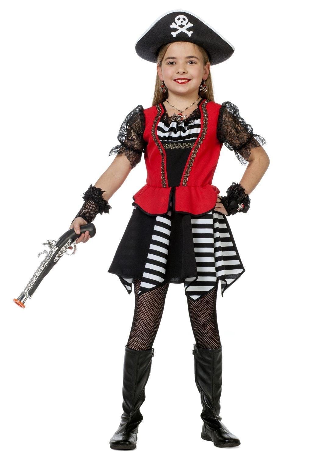 Pirate zwart wit streep