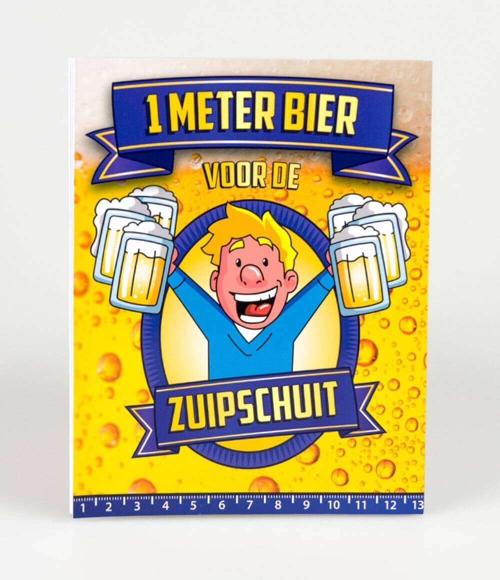 Bier Meter Kaarten Zuipschuit