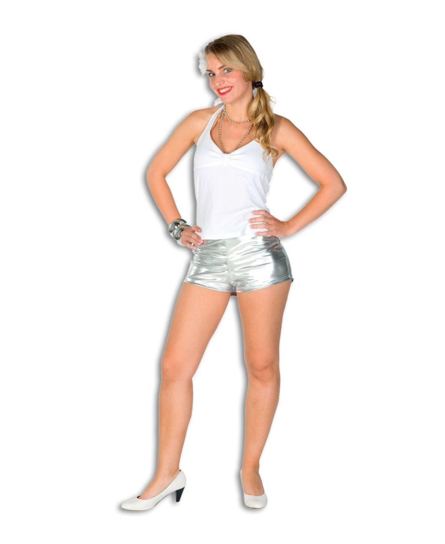 Hotpants Zilver