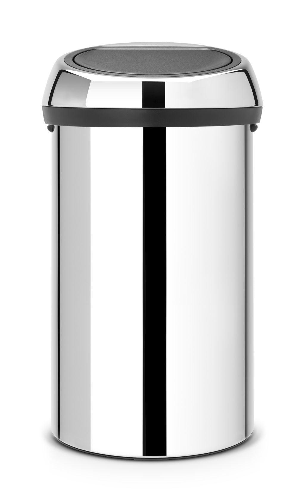Brabantia Afvalemmer Touch Bin 50 Liter.Brabantia Touch Bin Afvalemmer 60 Liter Briliant Steel Brabantia Touch Bin Afvalemmer 60 Liter Briliant Steel