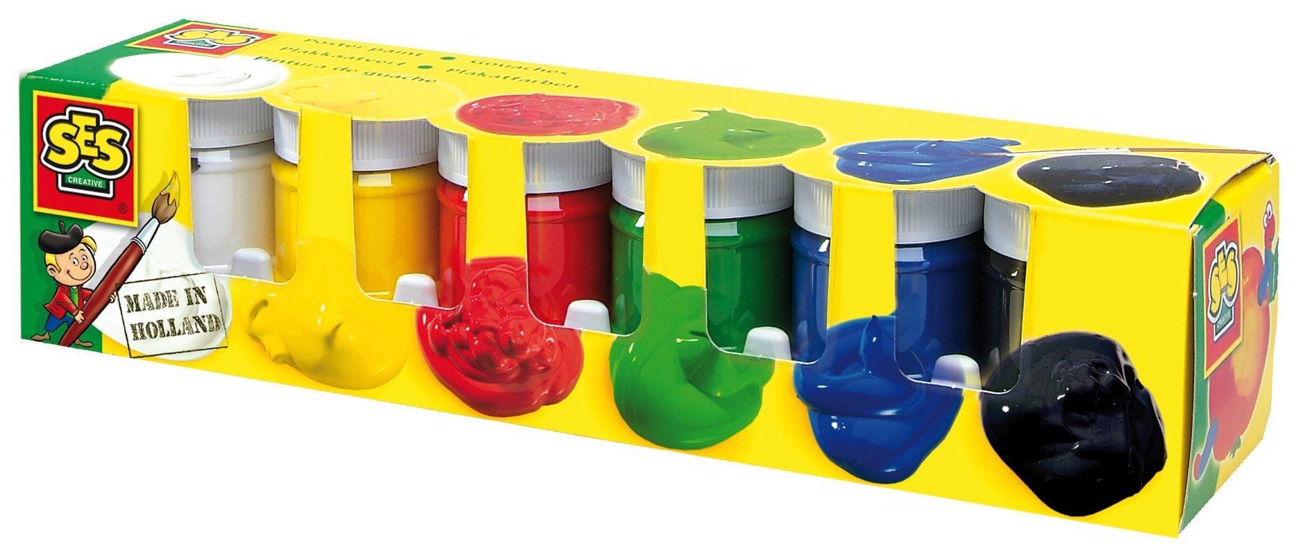 Plakkaatverf Trendy 6 kleuren