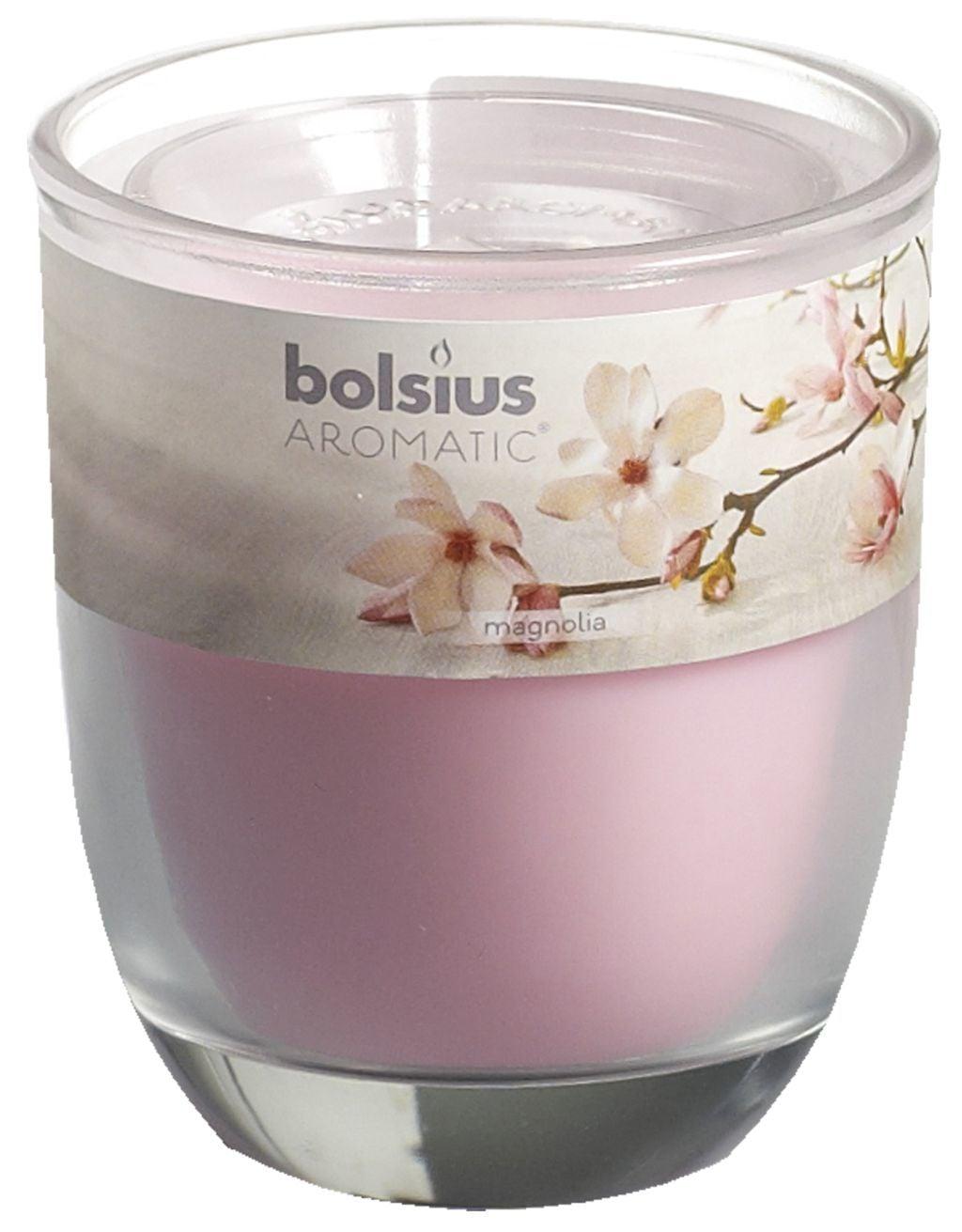 Bolsius Geurglas 80-70 Magnolia Stuk