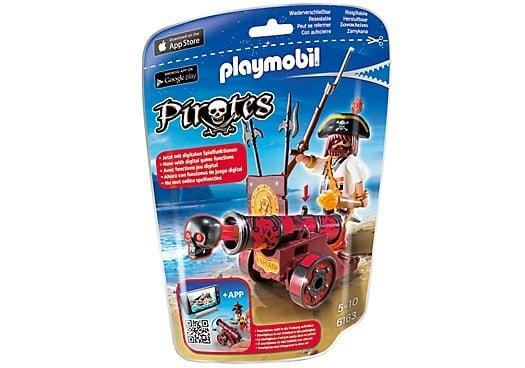 Playmobil Pirates zeerover met kanon 6163