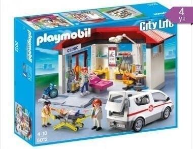 Playmobil® 5012 Playmobil Ziekenhuis met ambulance OP=OP