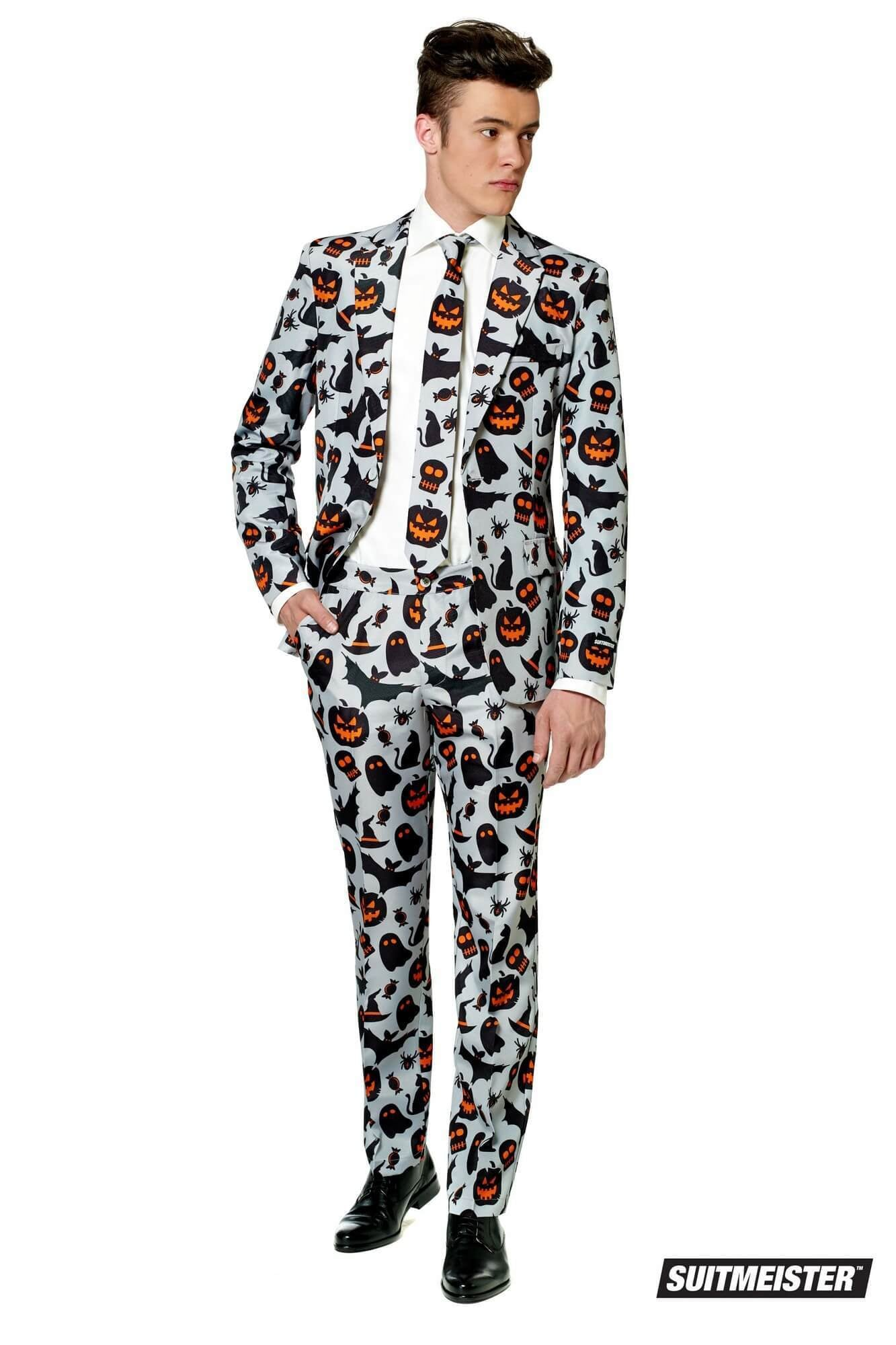 Opposuits Halloween Grey Icons