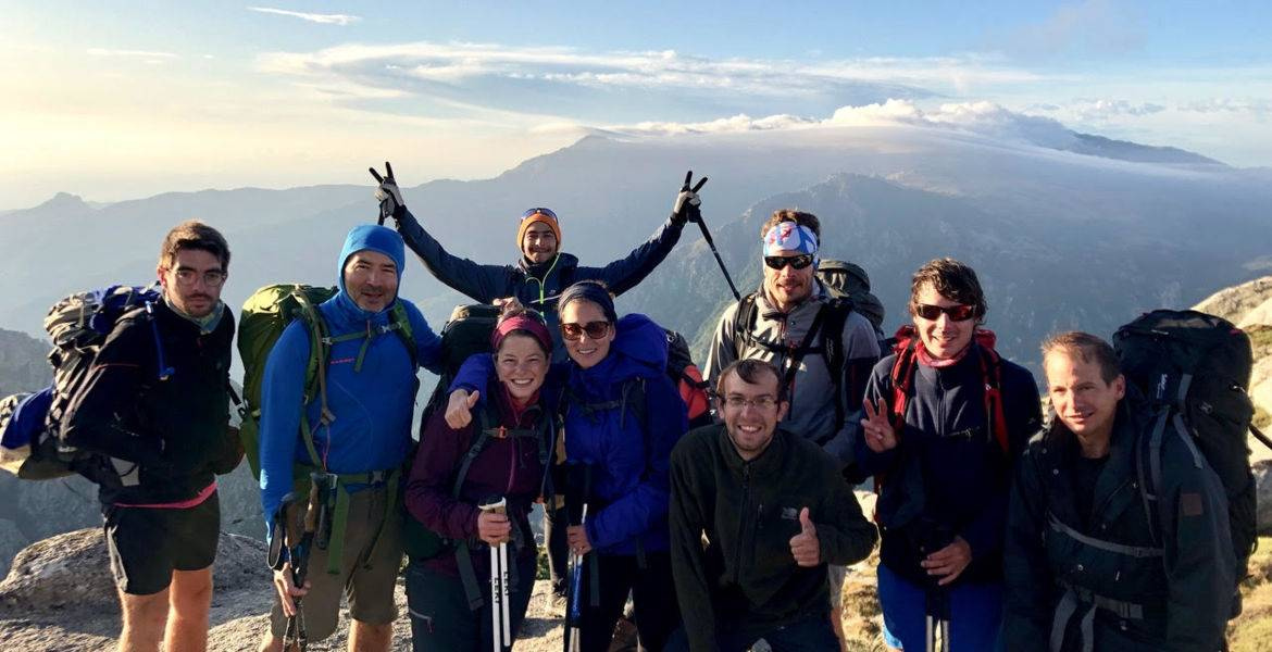 GR20 Corsica integral hike in 2 weeks with a guide