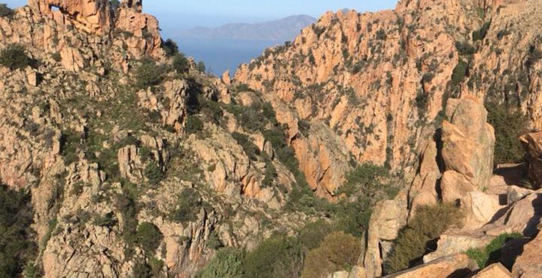 Canyon Le Dardu in den Calanches von Piana