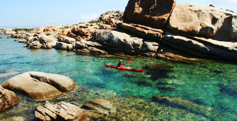 Wasserwandern im Seekajak auf Korsika – Wochentour « Die einsamen Buchte der Südwestküste »