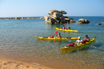 "Corsica sport holidays 1 week family trip ""fantastic cocktail"" : sea-kayaking, hiking and canyoning"