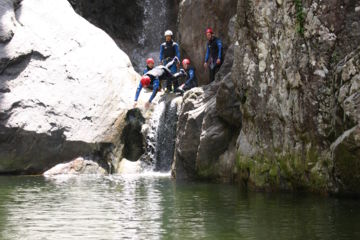 "Canyon corsica zoicu ""integral tour"" : one of the most beautiful, from 12 years-old"