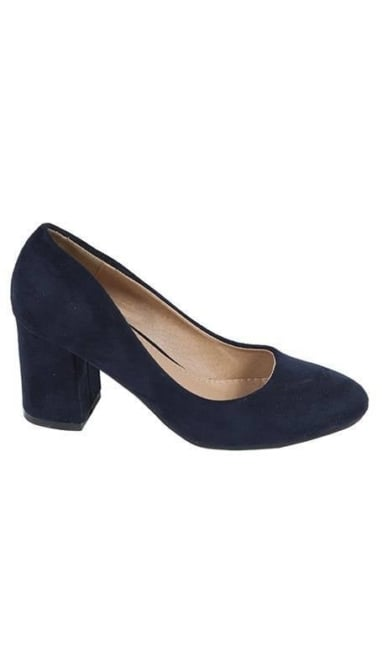Blauwe pumps 2528