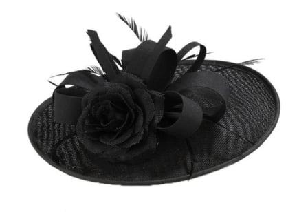 Dameshoed  zwart 3623
