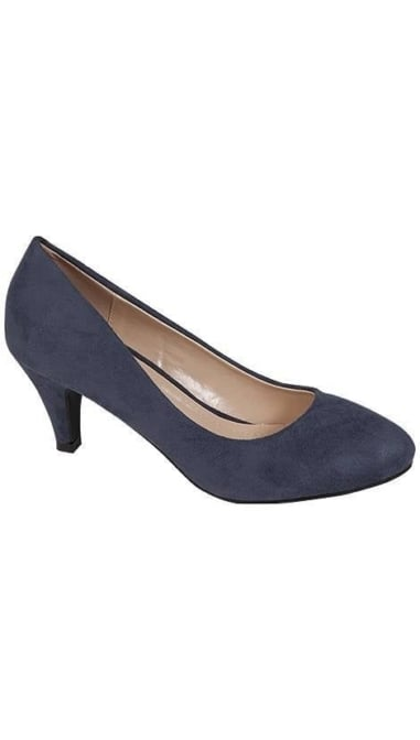 Pump in navyblauw  3789