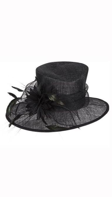 Zwarte dameshoed  3765