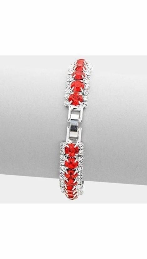 Armband rood  3060 - GLZK sieraden