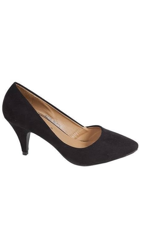 Pumps in zwart suède 1913 - GLZK-schoenen