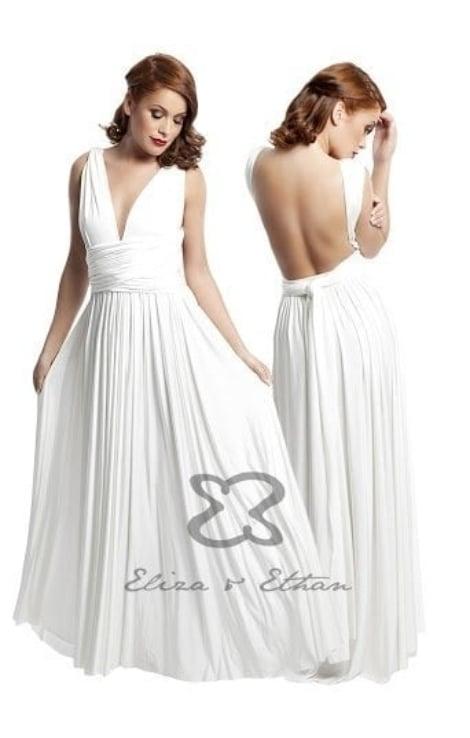 Galajurk bruidsmeisje 2138 - Eliza&ethan