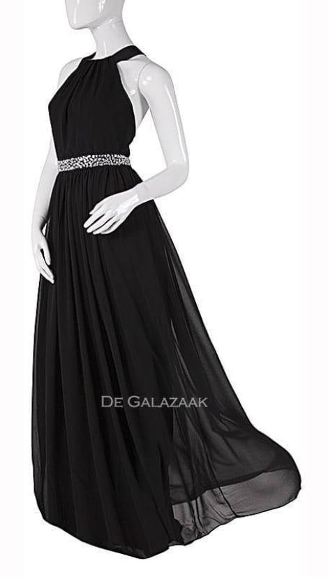 Galajurk in zwart  2221 - City Goddess galajurken en cocktailjurken