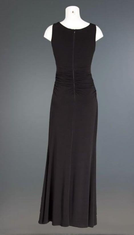 Galajurk in zwart met collier hals - Lasense