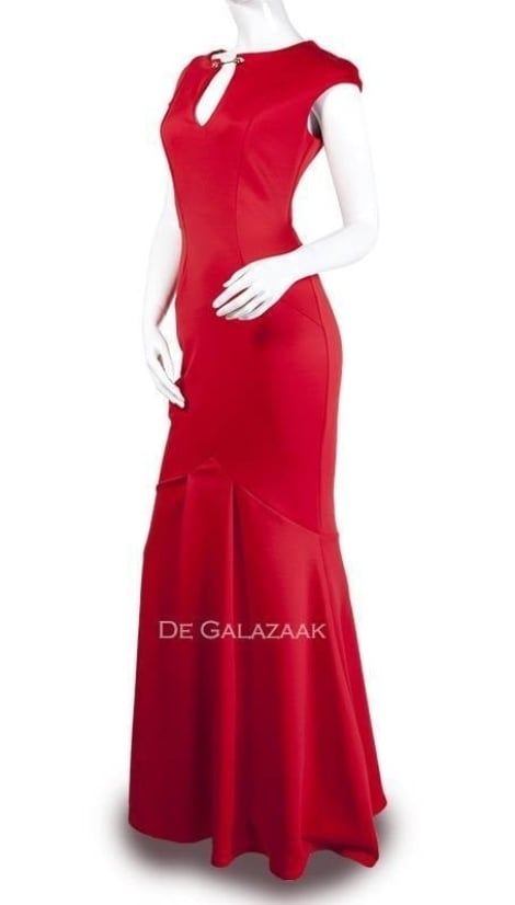 Galajurk rood mermaid  3364 - City Goddess