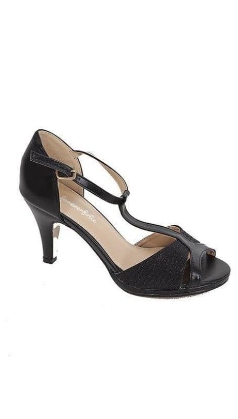 Galaschoentje zwart   3384 - GLZK-schoenen
