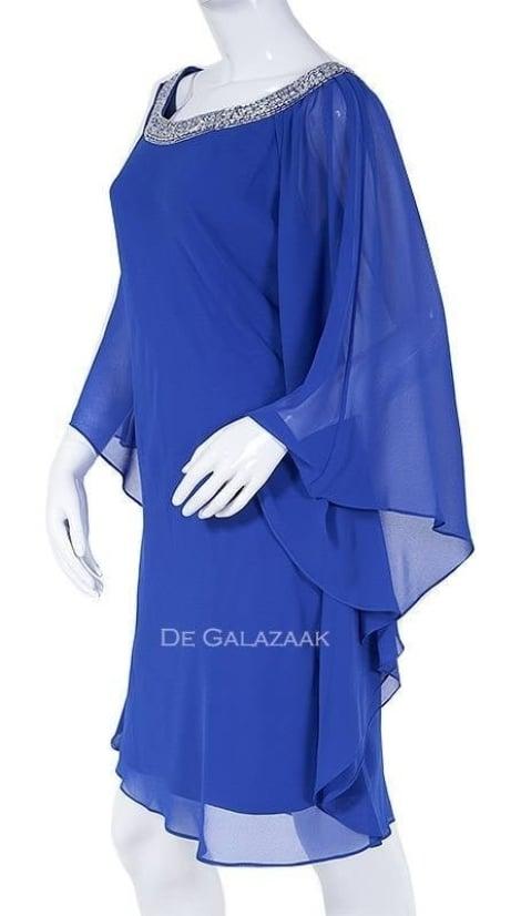 Cocktailjurk royal-blauw 3457 - Mascara