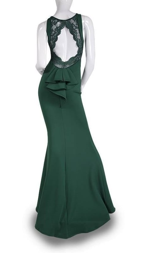 Avondjurk in groen  3609 - City Goddess