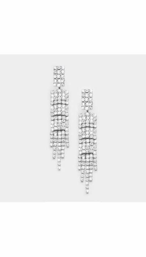 Oorbellen zilver  3685 - GLZK sieraden