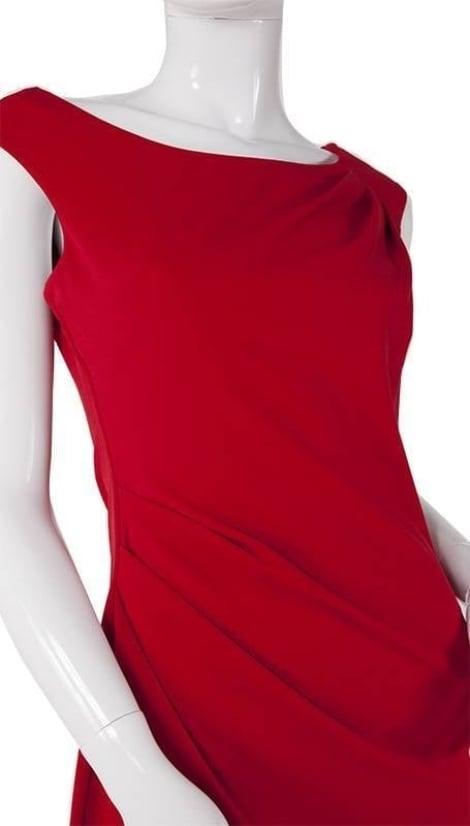 Rode feestjurk  3733 - City Goddess