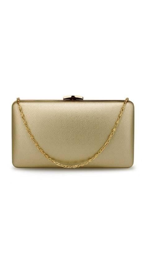 Clutch goud  3828 - GLZK tasjes en clutches