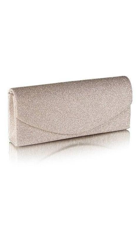 Beige glitter galatasje  2524 - GLZK tasjes en clutches