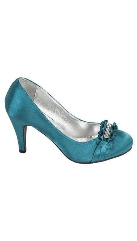 pumps in turquoise 1801 - GLZK-schoenen
