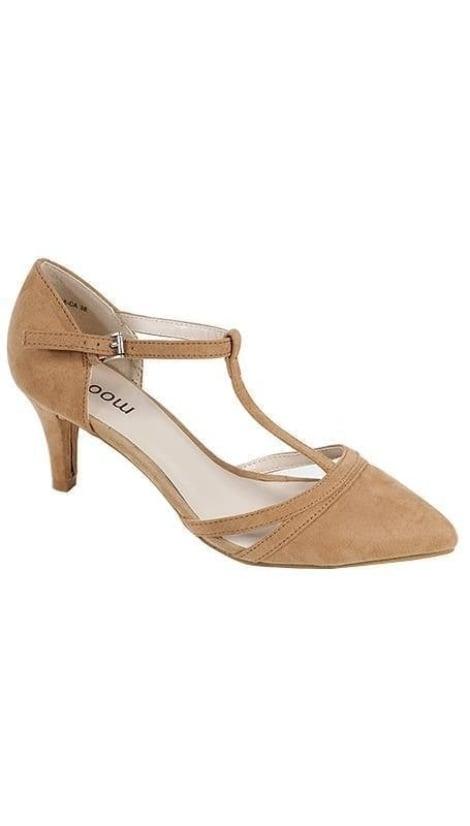 Beige pump - GLZK-schoenen