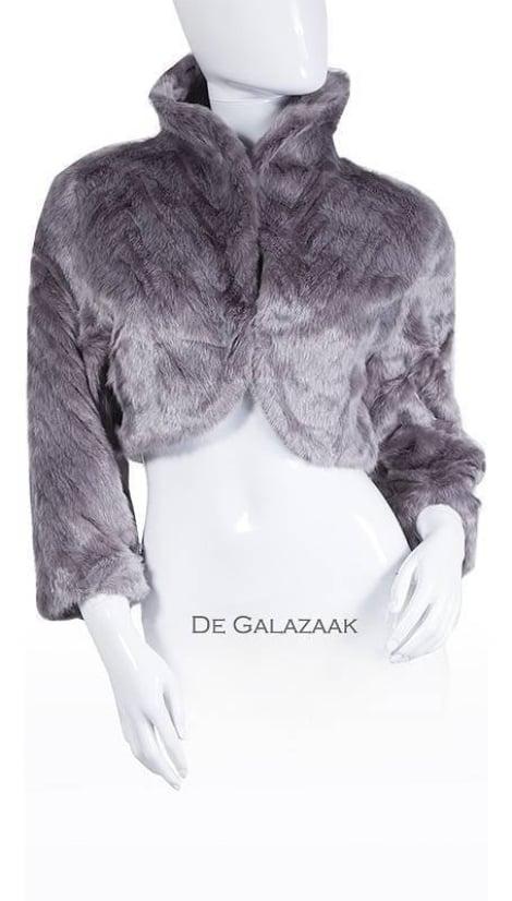 Bontjasje in grijs 3579 - Mascara galajurken