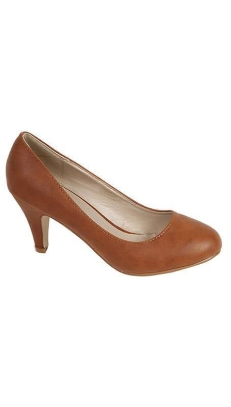 Pumps in camel 1641 - GLZK-schoenen
