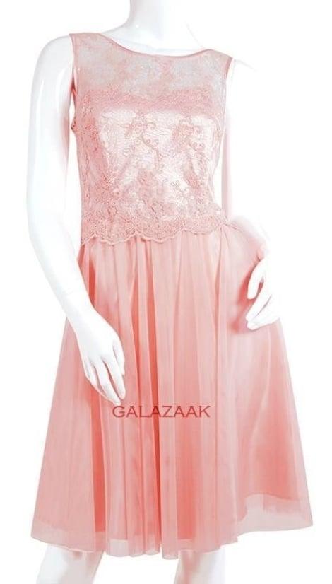 Cocktailjurk roze  3337 - Lasense galajurken en cocktailjurken