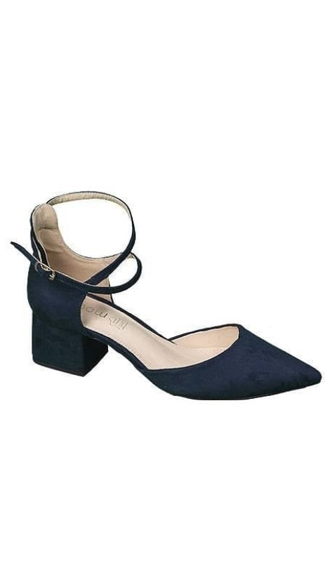 Pumps navyblauw  3641 - GLZK-schoenen