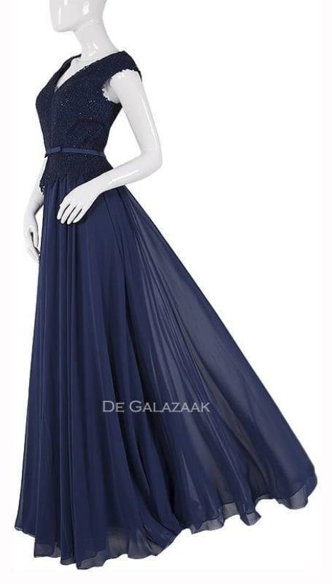 Galajurk navy-blauw  1878 - Magic Nights