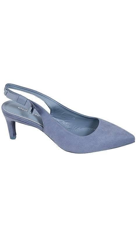 Galaschoen in lichtblauw  3792 - GLZK-schoenen