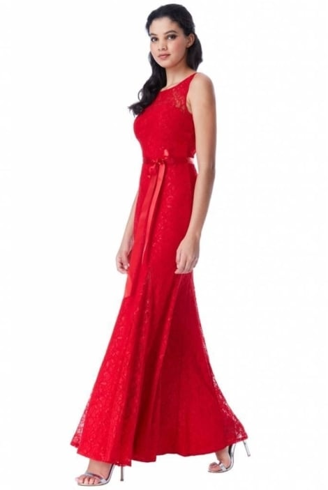 Galajurk rood van kant  3608 - City Goddess
