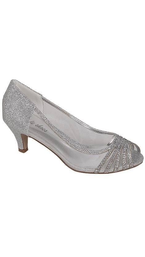 Galaschoentje in zilver  3791 - GLZK-schoenen