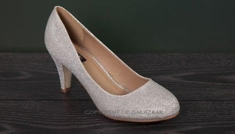 Zilveren pumps - GLZK-schoenen