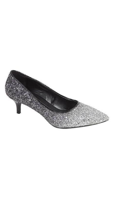 Glitter pumps met lage hak 2206 - GLZK-schoenen