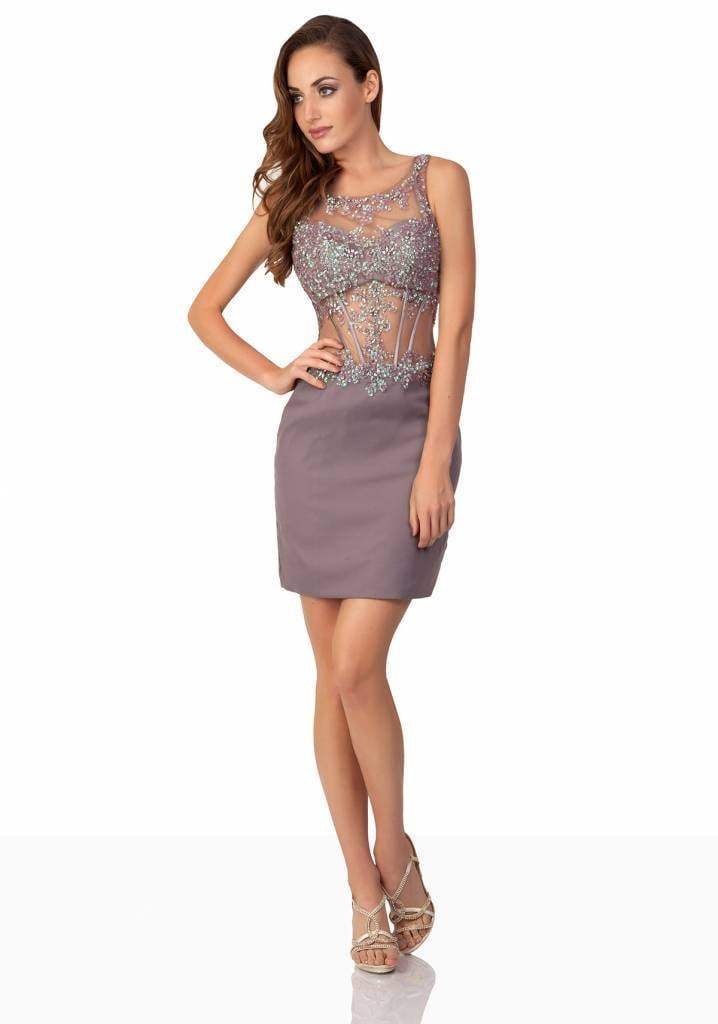 PARTY DRESS Cocktailjurk lilac