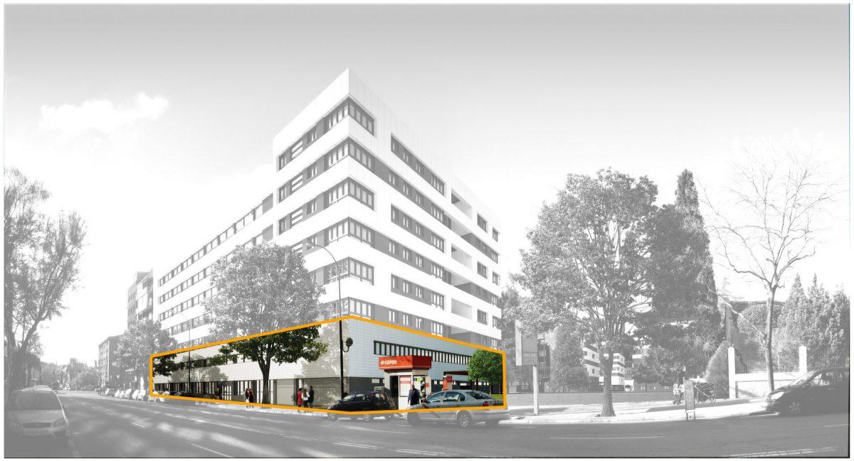 Local comercial en retiro zona comercial madrid for Cooperativa pisos madrid