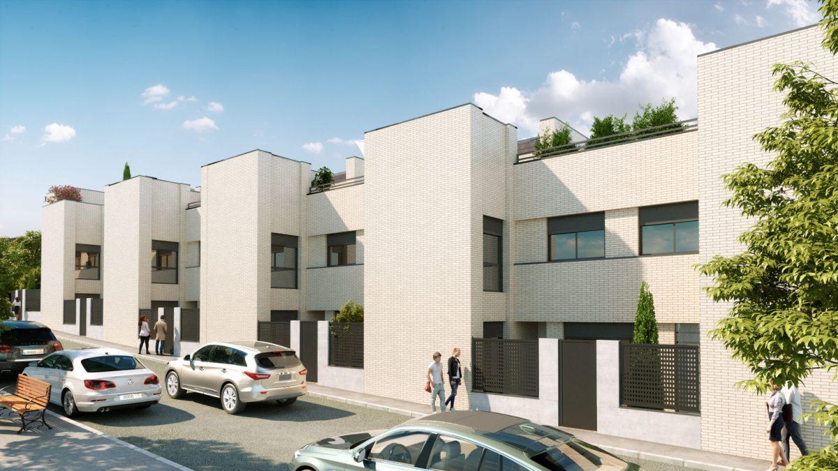 Chalets en tres cantos madrid viviendas unifamiliares - Cooperativa tres cantos ...