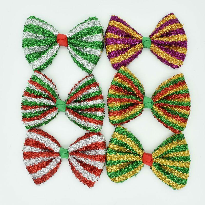 Christmas Hair Clips.Details About Christmas Hair Clips Bow Headwear Children Kids Headdress Girls Gift Accessories