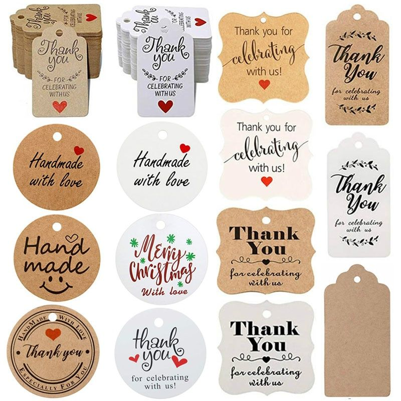 paper tag thank you Thank you tag Thank you note Thank you label Kraft thank you Thank you for celebrating with us Thanks tag tag