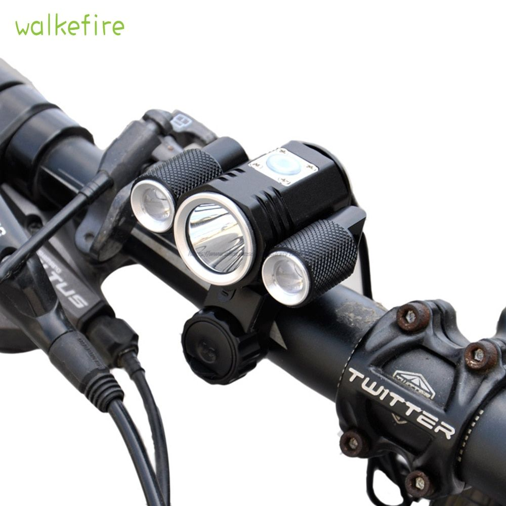 1Pc Waterproof USB Power LED Bike Bicycle Cycling Front Light Headlamp Headlight