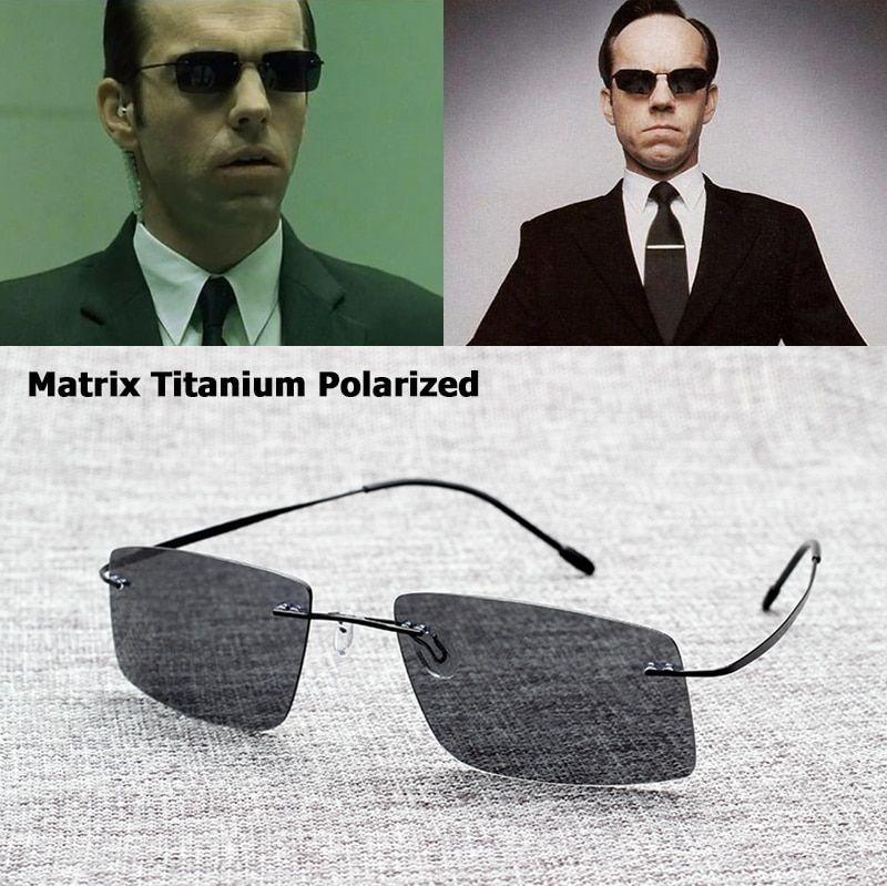 a3f3654620b ... Matrix Trinity Sunglasses Rare Blinde Polarized UV400 Lenses